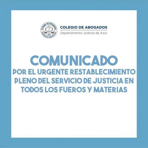 Comunicado Colegio Abogados